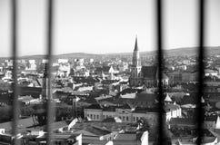 Πόλη μέσω του σιδήρου στοκ εικόνες με δικαίωμα ελεύθερης χρήσης