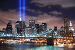 πόλη Μανχάτταν Νέα Υόρκη Στοκ φωτογραφία με δικαίωμα ελεύθερης χρήσης