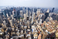 πόλη Μανχάτταν Νέα Υόρκη στοκ εικόνα με δικαίωμα ελεύθερης χρήσης