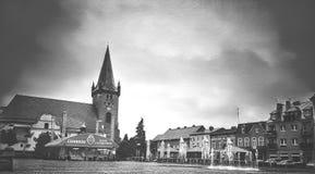 πόλη μικρή Στοκ Εικόνες