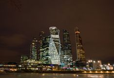 πόλη Μόσχα Ρωσία εμπορικό κέντρο διεθνής Μόσχα Στοκ Εικόνα
