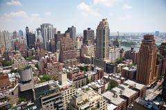 πόλη Νέα Υόρκη κτηρίων Στοκ εικόνες με δικαίωμα ελεύθερης χρήσης