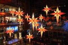 πόλη Νέα Υόρκη Χριστουγέννω& Στοκ Εικόνα
