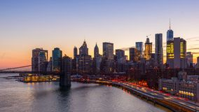 πόλη Νέα Υόρκη απόθεμα βίντεο