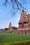 Πόλη ναών Khajuraho στοκ φωτογραφία με δικαίωμα ελεύθερης χρήσης