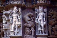 Πόλη ναών Khajuraho στοκ φωτογραφία