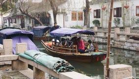 Πόλη νερού Zhouzhuang Στοκ φωτογραφία με δικαίωμα ελεύθερης χρήσης