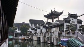 Πόλη νερού Zhouzhuang Στοκ φωτογραφίες με δικαίωμα ελεύθερης χρήσης