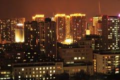 Πόλη νύχτας Στοκ φωτογραφίες με δικαίωμα ελεύθερης χρήσης