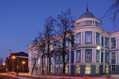Πόλη νύχτας Perm Στοκ Εικόνες