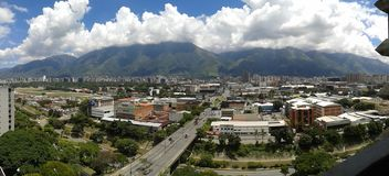 Πόλη οριζόντων του Καράκας στοκ φωτογραφία