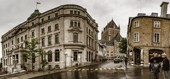 πόλη παλαιό Κεμπέκ στοκ φωτογραφία