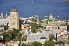 πόλη παλαιό Κεμπέκ Στοκ εικόνα με δικαίωμα ελεύθερης χρήσης