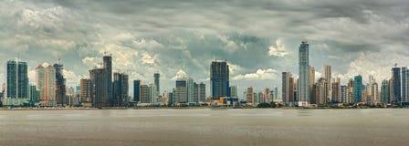 πόλη Παναμάς στοκ εικόνα με δικαίωμα ελεύθερης χρήσης
