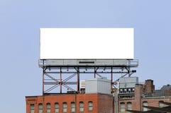 πόλη πινάκων διαφημίσεων με& Στοκ φωτογραφία με δικαίωμα ελεύθερης χρήσης