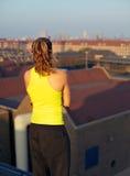 πόλη που κοιτάζει έξω Στοκ Φωτογραφίες