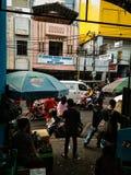 Πόλη που συσσωρεύεται αστική στοκ εικόνα