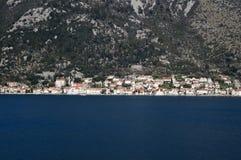 πόλη προστασίας του Μαυροβουνίου perast κάτω από την ΟΥΝΕΣΚΟ στοκ φωτογραφίες με δικαίωμα ελεύθερης χρήσης