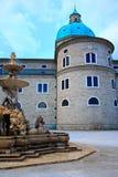 πόλη Σάλτζμπουργκ της Αυ&si Στοκ εικόνα με δικαίωμα ελεύθερης χρήσης