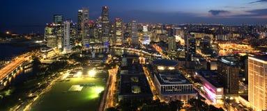 Πόλη Σινγκαπούρης Στοκ φωτογραφία με δικαίωμα ελεύθερης χρήσης