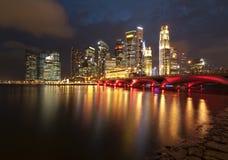 Πόλη Σινγκαπούρης Στοκ Εικόνες