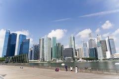 Πόλη Σινγκαπούρης Στοκ Φωτογραφίες