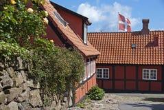 πόλη σπιτιών Στοκ Εικόνα