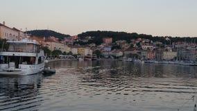 Πόλη στο ηλιοβασίλεμα στοκ εικόνες