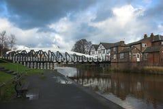 πόλη ταλάντευσης γεφυρών στοκ εικόνες