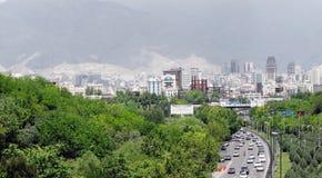 πόλη Τεχεράνη Στοκ εικόνες με δικαίωμα ελεύθερης χρήσης