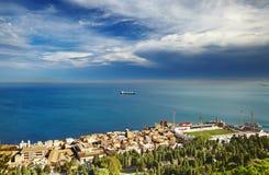 πόλη της Αλγερίας Αλγέρι στοκ εικόνες