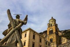 Πόλη της Αμάλφης στη νότια Ιταλία Στοκ φωτογραφία με δικαίωμα ελεύθερης χρήσης