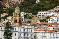 Πόλη της Αμάλφης στη νότια Ιταλία Στοκ εικόνες με δικαίωμα ελεύθερης χρήσης