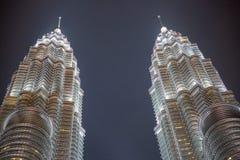 Πόλη της Ασίας τή νύχτα στοκ φωτογραφίες με δικαίωμα ελεύθερης χρήσης