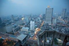 Πόλη της Ασίας τή νύχτα στοκ εικόνα με δικαίωμα ελεύθερης χρήσης