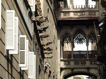 πόλη της Βαρκελώνης Στοκ Φωτογραφίες