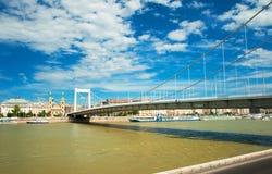 πόλη της Βουδαπέστης φθιν& Στοκ Φωτογραφίες