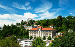 Πόλη της Γενεύης, Ελβετία Στοκ φωτογραφία με δικαίωμα ελεύθερης χρήσης