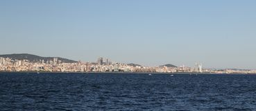 Πόλη της Ιστανμπούλ στην Τουρκία Στοκ εικόνα με δικαίωμα ελεύθερης χρήσης