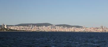 Πόλη της Ιστανμπούλ στην Τουρκία Στοκ εικόνες με δικαίωμα ελεύθερης χρήσης