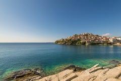 Πόλη της Καβάλας στην Ελλάδα Στοκ Φωτογραφίες