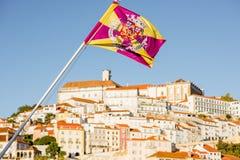 Πόλη της Κοΐμπρα στην Πορτογαλία Στοκ φωτογραφία με δικαίωμα ελεύθερης χρήσης