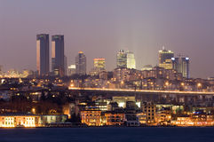 Πόλη της Κωνσταντινούπολης, Τουρκία Στοκ Φωτογραφία