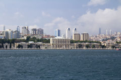 Πόλη της Κωνσταντινούπολης Στοκ εικόνες με δικαίωμα ελεύθερης χρήσης
