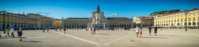 Πόλη της Λισσαβώνας σε γραπτό Στοκ Φωτογραφίες