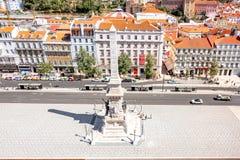 Πόλη της Λισσαβώνας στην Πορτογαλία Στοκ φωτογραφία με δικαίωμα ελεύθερης χρήσης