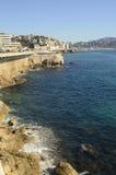 Πόλη της Μασσαλίας και της θάλασσάς του στοκ εικόνα