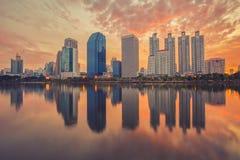 Πόλη της Μπανγκόκ στο κέντρο της πόλης στοκ φωτογραφίες με δικαίωμα ελεύθερης χρήσης