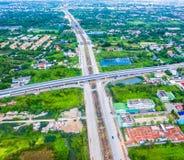 Πόλη της Μπανγκόκ της Ταϊλάνδης στοκ εικόνες