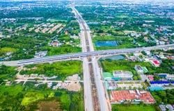 Πόλη της Μπανγκόκ της Ταϊλάνδης στοκ φωτογραφία
